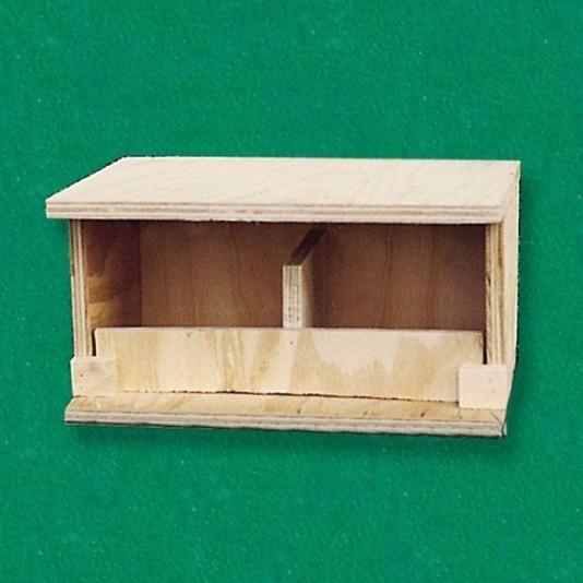 Nest aus Bootsbausperrholz für Turteltauben