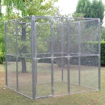 Aviary in mesh