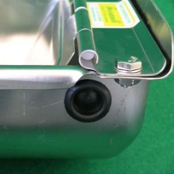 Abbeveratoio automatico in acciaio inox per cani