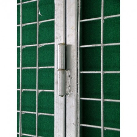 Hinge on Mesh Gate