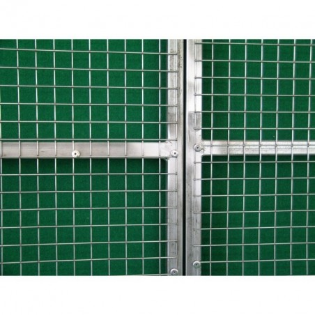 Riveted net on Aviary Gates and Panels