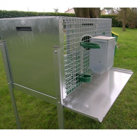 removable drip tray on Rabbit Hutch for Male