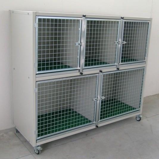 Gabbie Degenza - Box Esposizione per cani e gatti