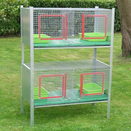 Stecked Cages for Cats