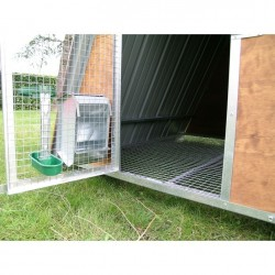 Internal of Mini Chicken Coop