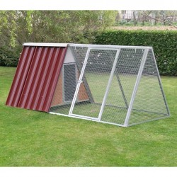 Fence in Mesh for Mini chicken coop