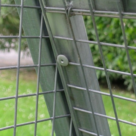 Fence in Mesh for chicken coop