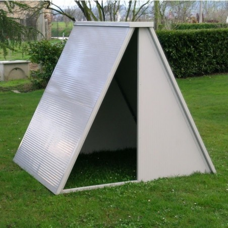 Shelter in Insulated Panel for sheep, pigs, goats