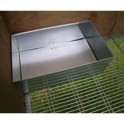 Rabbit Hutch for 2 Breed Outdoor internal nest