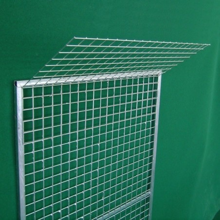 Mesh Panel with anti override net