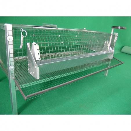 Cage for laying quail