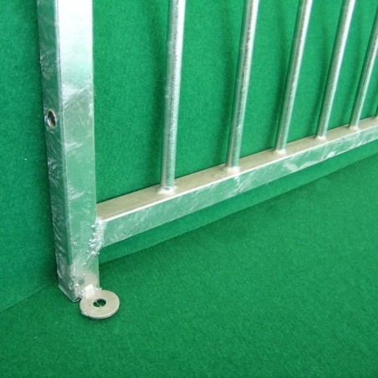 Tore und Zäune mit Gitterstäben
