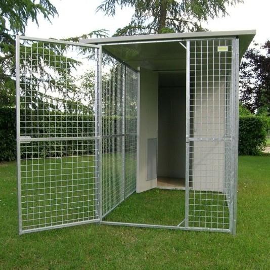 Box per cani mod modulare for Cancelletto per cani da esterno