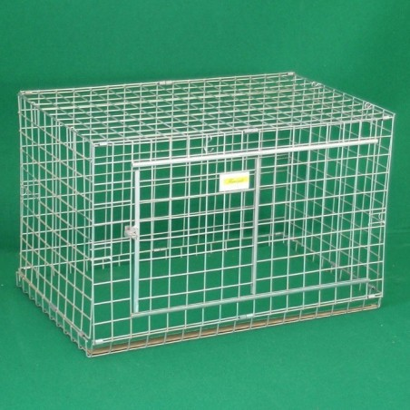 Dog Crates in net