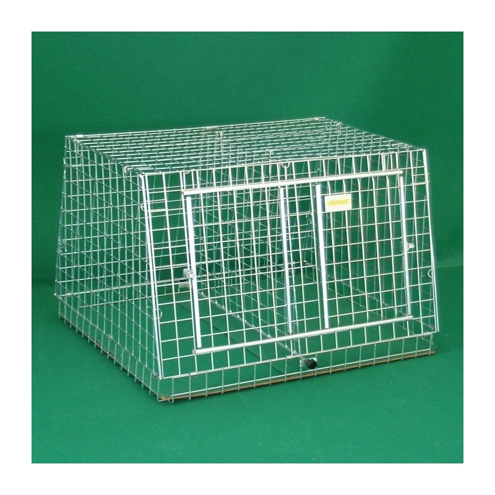 Transportbox aus geformtem Drahtgitter für Hunde