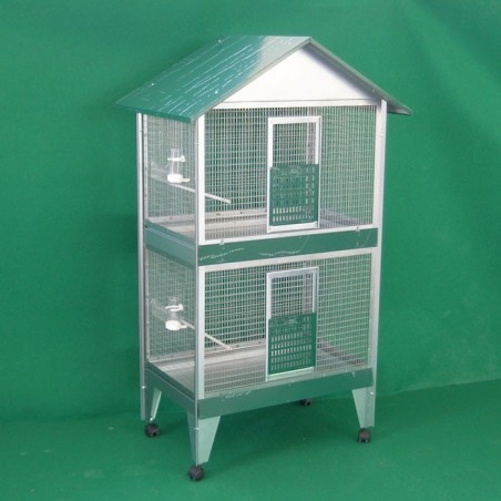Parrot Cage on two floors