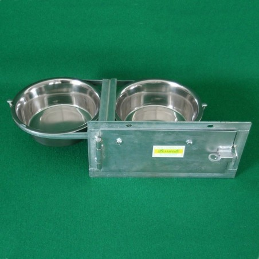 Zweifach-Futterwendeplatte für Hunde