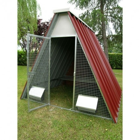 Ground Chicken Coop