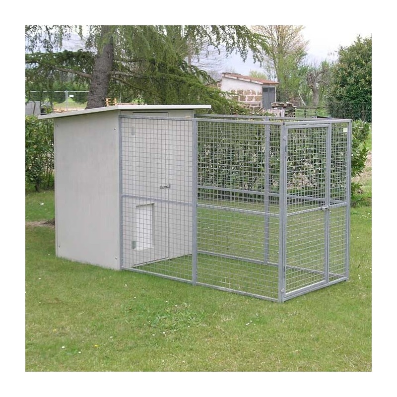 Dog Kennel mod. Modular without roof