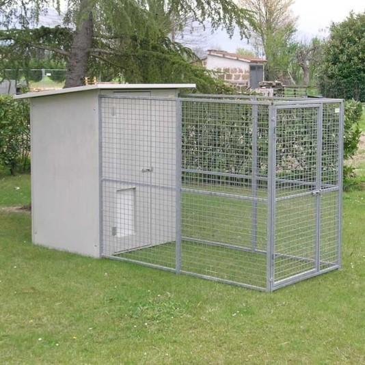 Hundezwinger Mod. Modular ohne uberdachung