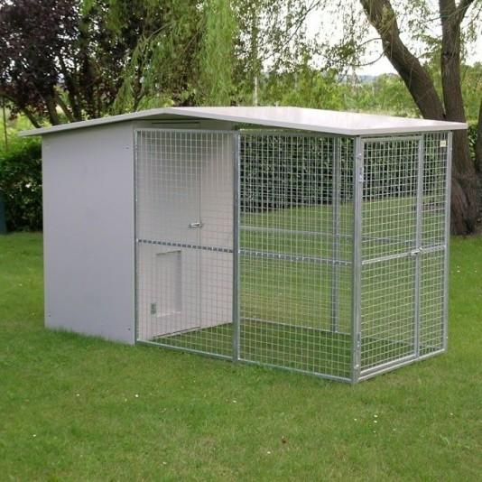 Box per cani mod. Modulare senza tettoia