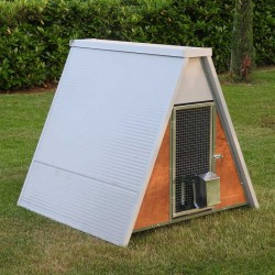 Insulated Mini Raised Chicken Coop