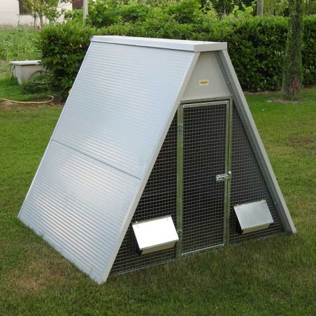 Insulated Ground Chicken Coop