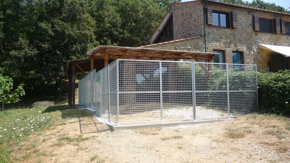 Cancelli e pannelli in rete elettrosaldata ferranti - Recinti per giardino ...
